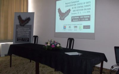 "Regional Symposium ""Conservation status of Bats in the central Europe and Western Balkan"" in Sarajevo and the field trainig in Bijambare protected area"